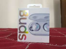 Samsung Galaxy buds, Sealed box, White color