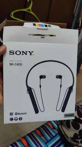 Sony WI-C400 Bluetooth headset original