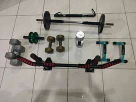 Alat Olahraga Fitness Gym Barbel Dumble Push Up Pull Up Chin Up