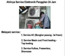 Jasa Perbaikan Ac tidak dingin ,Kulkas 2pintu Mesin cuci rusak/kompor
