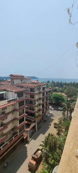 2bhk fully furnished Sea view gated society Caranzalem
