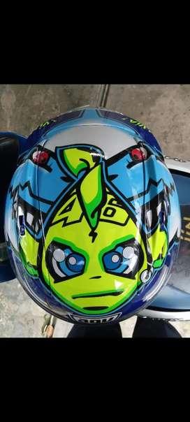 Helm KYT RC7 Motif Rossi