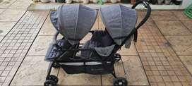 Chrisbell Eugene Twin Sharing Stroller