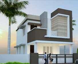 68 lakhs 3Bhk villa sale in Vadavalli