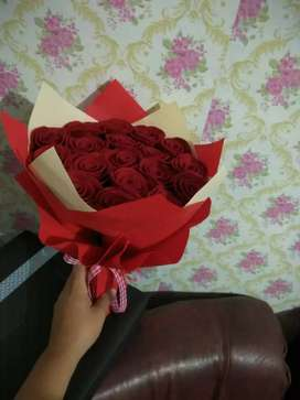 Buket bunga untuk anniversary