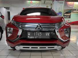 Mitsubishi xpander ultimate merah automatic cc 1.5 low km 30rban 2018