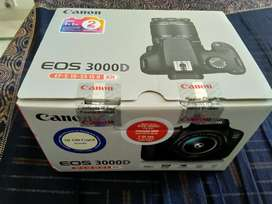 Canon eos 3000d in new condition