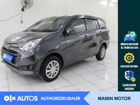 [OLX Autos] Daihatsu Sigra 2019 1.2 X A/T Abu-abu #Mamin Motor