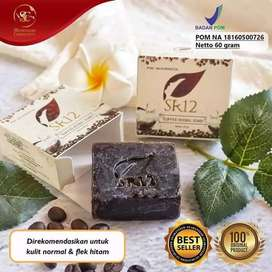 Sabun kopi herbal sr12 /coffee soap sr12/penghilang flek hitam