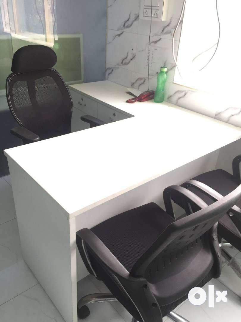 No Brokerage! Furnished Office Space on Rent for Day/Night Shifts.