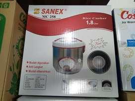 magic com rice cooker penanak nasi sanex 1,8L mc 258 (sinar kita)