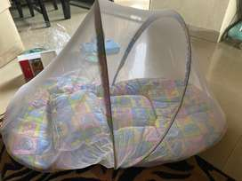 Toddler mosquito and insect protector mattress