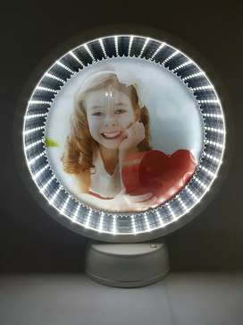 Magic Mirror Photo Frame 3d Light Imported