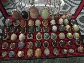 Cincin dan Kalung Batu asli terawat