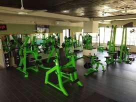 ALL TYPES OF GYM SET UP AVAILABLE