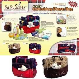 Tas Bayi Boneka Baby Scots ISEDB011 Besar ( Cocok untuk Traveling )