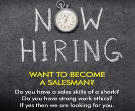 Sales person for ground level marketing for products
