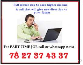 It's part time work. only for home based. Just call and achieve opport