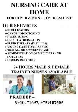 Nursing home care.