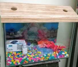 New Aquarium With Accessories Size 1.5Ft