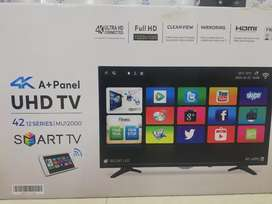 Android 42 inch screen Samsung Sony WiFi 4k LED. IBrahim Electronics