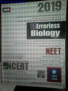 Errorless biology 2019(volume 1 + 2)