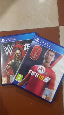 2K18 and Fifa 18