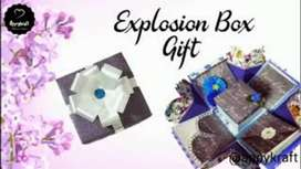 Explosion box gift