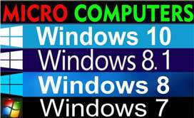 WINDOWS 10, 8.1,8,7,7.1,All Service