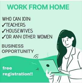 Work from home for Females