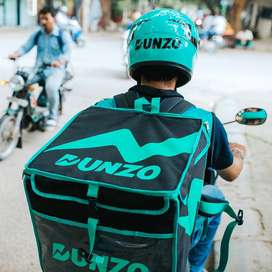 WANTED DELIVERY BOYS FOR DUNZO