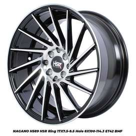 VELG MOBIL FREED RACING DIGOLDEN TYPE NAGANO HSR R17X75/85 PCD4X100/11
