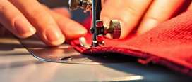 Requirement for men or women with sewing skill