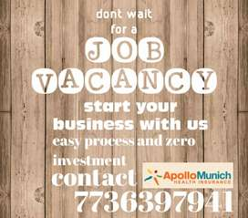 Be an agent of appolo munich health insurance
