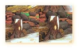 Anda Lagi Perlu Wall Relief / Relif Dinding dan Pilar / Taman Ternate