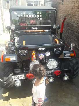 Willys jeep fully new condition
