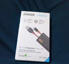 Anker powerline+ 90 cm original. Garansi resmi anker