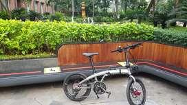 Ecosmo Z8 Upgrade. Sepeda Lipat Element