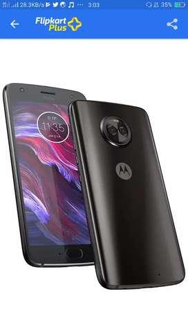 Moto X4 (Super black,64GB) (6GB RAM)