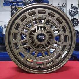 Velg Racing Model Gahar HSR R17x7.5 H8x100-114.3 ET40 Buat Phanter