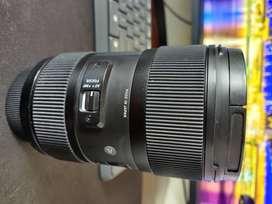 Sigma 18-35 1.8 Art - Nikon Mount