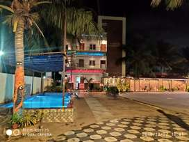 Guest house with ac rooms,led tv,internet,swimming pool