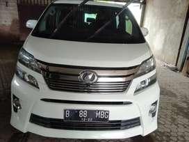 Toyota Vellfire ZG premium sound AT 2012