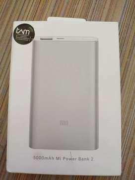 Powerbank Xiaomi 5000 mAh slim design
