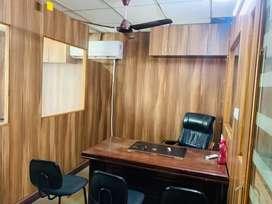 Furnished office space for rent in mansarovar plaza...