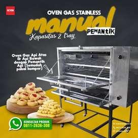oven gas stainless dengan pemantik api atas bawah untuk umkm jambi