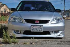 Honda Civic 2004 Full Body Kit - Front Rear Bumper & 2x Side Skirts