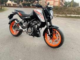 2019 KTM DUKE 125cc ABS 12000km Driven