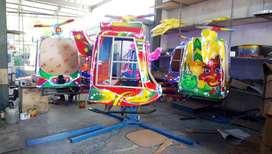 komedi helikopter mainan eskavator beko keruk capit L05
