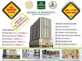 AQ MALL & RESIDENCY Shops on Easy Installments